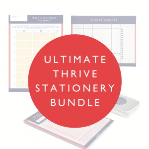 Thrive Collective Ultimate Stationery Bundle