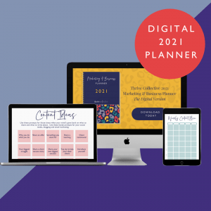 2021 Digital Marketing & Business Planner